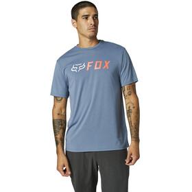 Fox Apex Maglietta Tech maniche lunghe Uomo, blu